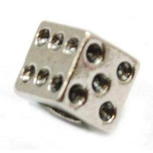 Toc Beadz Dado 7mm da Infilare E da Sfilare Perlina