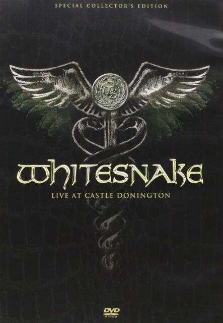 WHITESNAKE Live At Donnington DVD * NEW & SEALED- FAST UK DISPATCH ! *