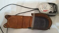 RARE ANTIQUE VINTAGE STITZ EXPOSURE LIGHT METER + LEATHER CASE CAMERA PHOTOGRAPH