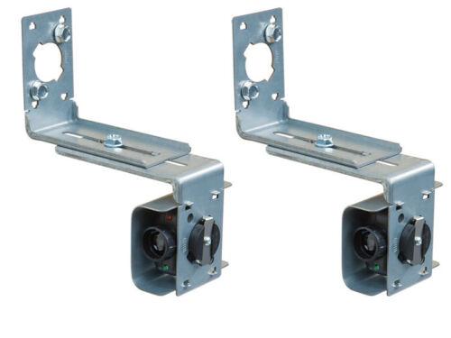 Linear HAE00056 30ft Photo Eye Receiver /& Transmitter w// Mounting Brackets UL325