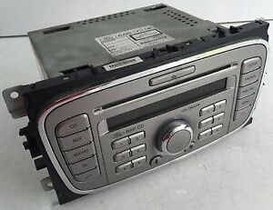 ford 6000 galaxy smax focus mondeo unmarked aux cd radio unit code 2007 to 2011 ebay. Black Bedroom Furniture Sets. Home Design Ideas