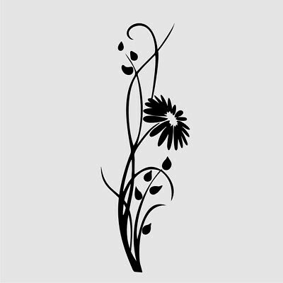 FENNEL STALK Reusable Stencil A3 A4 A5 Romantic Shabby Chic Craft DIY Art Flora1