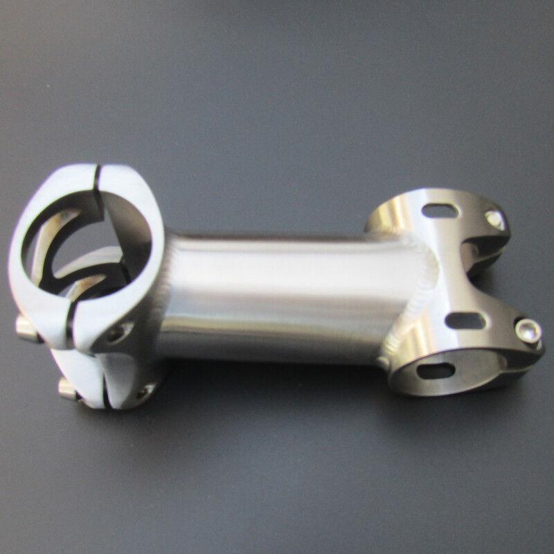 Titanium Bicycle Stem Ti Stem Handlebar Stem 28.631.8 (0-20°) Length 50-120mm