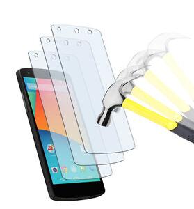 3-x-PANZERFOLIE-LG-Google-Nexus-5-Panzer-soft-TPU-Klar-Displayschutzfolie-Folie