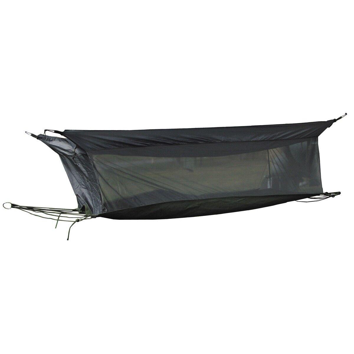 MFH Tenda Amaca militare esercito con zanzariera campeggio viaggi Verde