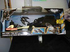 The Dark Knight Rises Bat-Pod + The Bat with Launch and Attack Batman