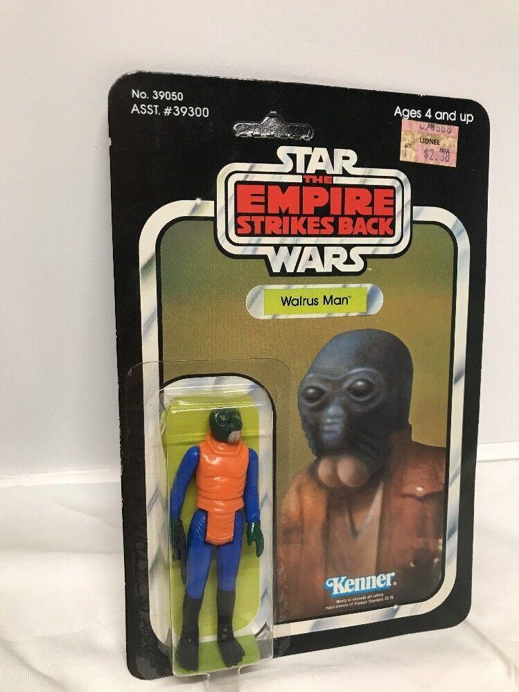 Vintage Kenner 1980 Star Wars ESB 41-Back Walrus Man MOC Sealed