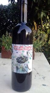 Bottiglia Mirto sardo. Produzione artigianale senza coloranti ne' conservanti - Italia - Bottiglia Mirto sardo. Produzione artigianale senza coloranti ne' conservanti - Italia