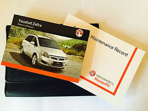 VAUXHALL-ZAFIRA-B-SERVICE-BOOK-HANDBOOK-amp-WALLET-PACK-2011-To-2015-Brand-New