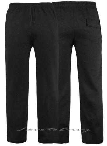 Mens Jogging Bottoms Fleece Tracksuit Joggers Trousers Bottoms Pants M-L-XL-XXL.