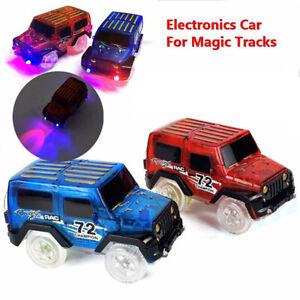 Mini Elektronik Auto Spielzeug LED Blinkler Track Auto Kinder Spielzeug Geschenk
