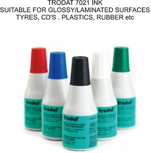 PERMANENT QUICK DRYING RUBBER STAMP INK GLOSSY LAMINATED PLASTIC RUBBER TYRES