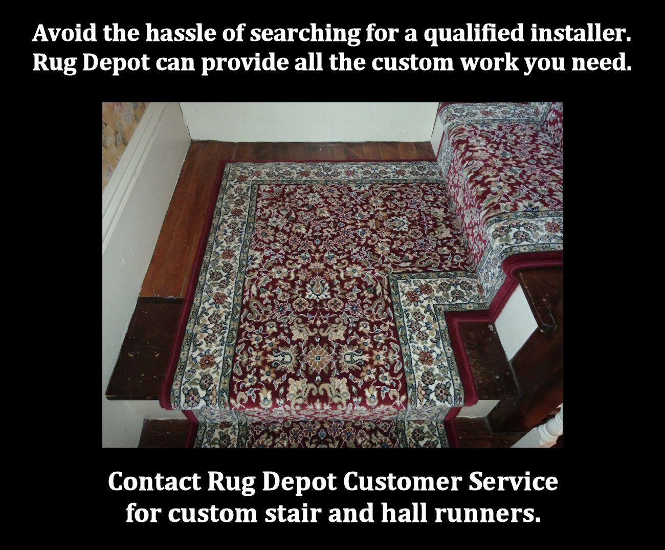 Rug Depot Traditional Oriental Hall Hall Hall and Stair Runner - 31  Wide rot Rug Runner f48c1f