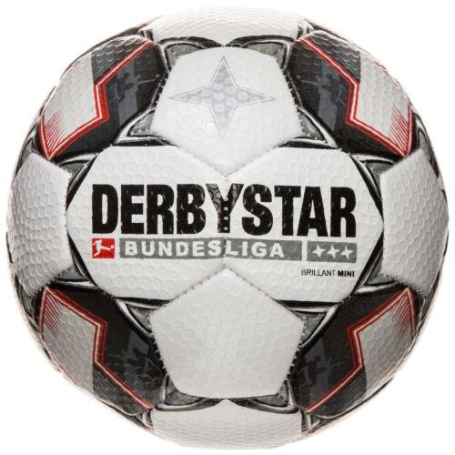 Fußball Derbystar Bundesliga Brillant Mini Fußball weiß schwarz NEU