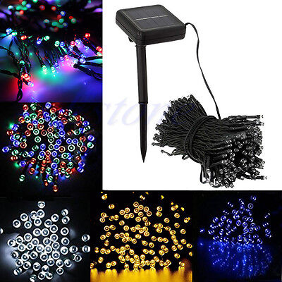 50 Solar Power LED String Lights White Bright Christmas Xmas special offer sale