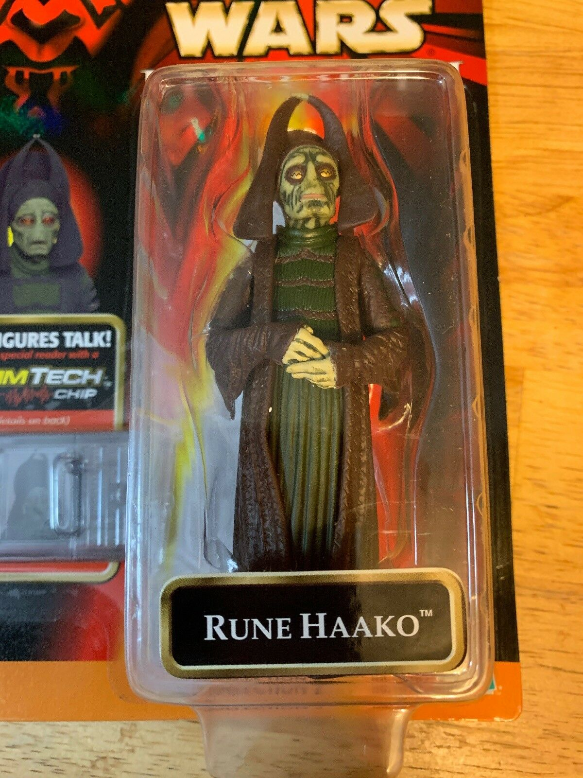 Rune Haako Rare Authentic Signed In In In Person Action Figure Jerome Blake Star Wars e8b733