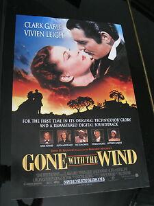 Gone With The Wind Original Mini 13x20 1998 Re Release