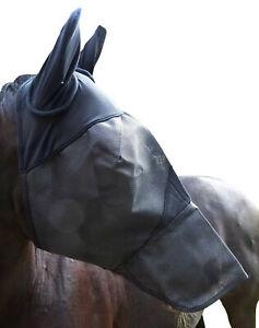 Fliegenmaske-inkl-Ohren-und-Nase-Voll-und-Warmblut-verstaerkte-Ausfuehrung-Wogati