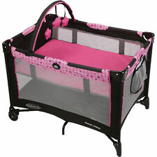 Graco Travel Playpen Pack n Play Play Yard Portable Folding Baby Crib Bassinet