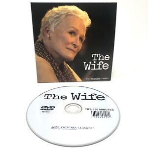 Details about THE WIFE 2018 FYC 2019 Sony Pictures Oscar Awards Screener  DVD Glenn Close