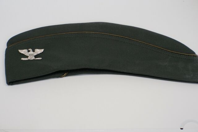 Korean - Vietnam War WAC Womens Army Corps Colonel's Hat by Flight Ace SIZE 22.5