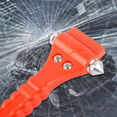 1 X Nothammer Notfall Hammer Mit Gurtschneider Für Auto Scheibe Glas Fenster