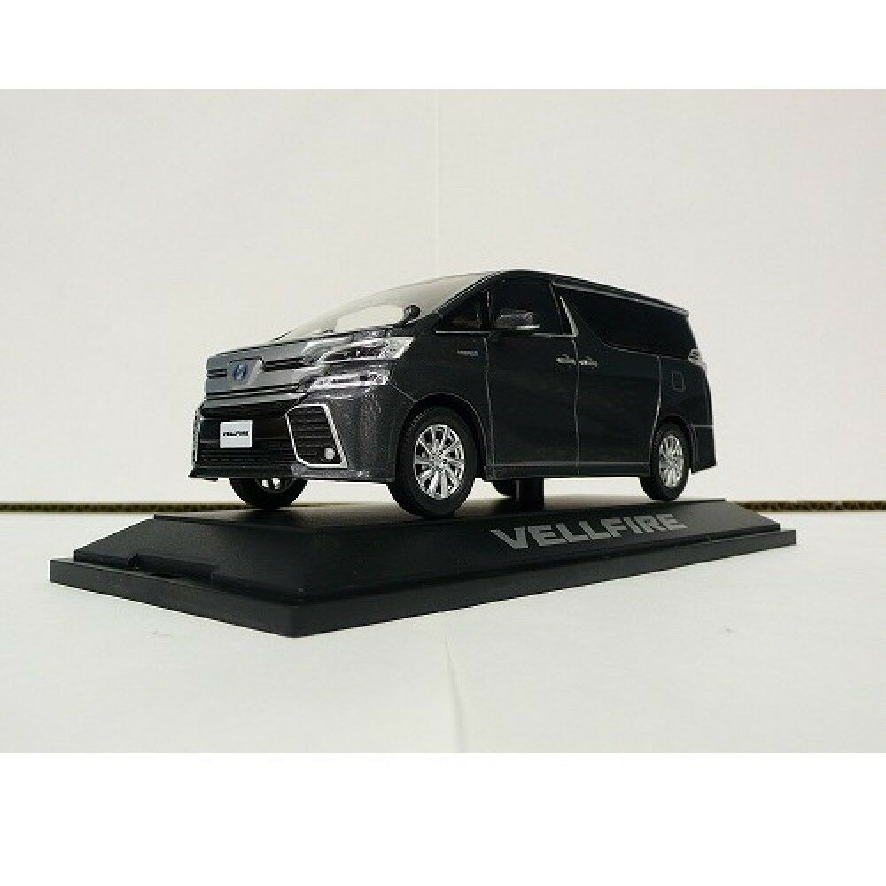 TOYOTA VELLFIRE 2015 1/30 scale die casting minicar Gris Metallic NEW from JAPAN
