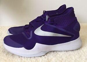Nike de 835439 Zoom Purple baloncesto Silver 501 para 2016 M Zapatillas Us 18 hombre Hyperrev Sz aqdE6watx