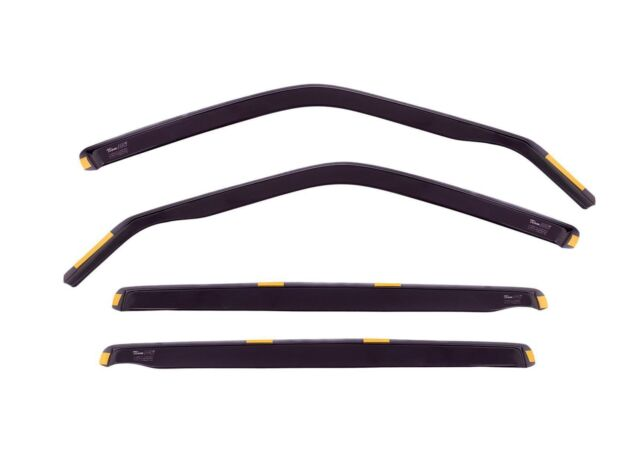DTO29607 Wind deflectors fit TOYOTA  AVENSIS Estate 1997-2003 4pc TINTED HEKO