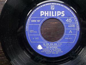 IAN-MATTHEWS-Da-Doo-Ron-Ron-Never-Again-Philips-7-034-1972