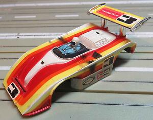 para-H0-coche-slot-racing-Maqueta-de-tren-AFX-Shadow-Le-Mans-Carroceria