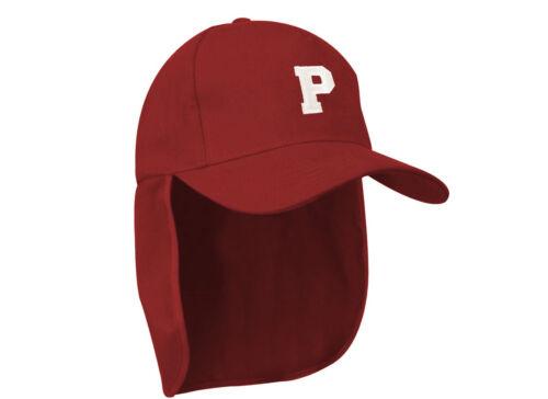 Junior legionnaire Baseball Cap Boy Girl Children Maroon Hat Sun Protection