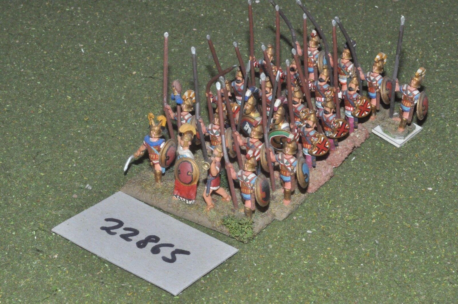 25mm Clásico macedonio-pikemen 24 figuras-INF (22865)