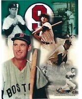 Ted Williams - Boston Red Sox - Legend Composite 8 X 10 Photo