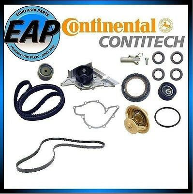 For A4 A6 Passat OEM Timing Serpentine Belt Water Pump Thermostat Kit w/Seals