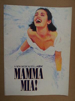 souvenir book ABBA mamma mia