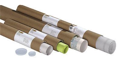 10 Stück Versandhülsen Posterrollen Papprollen (Din A0, Din A1, Din A2) wählbar