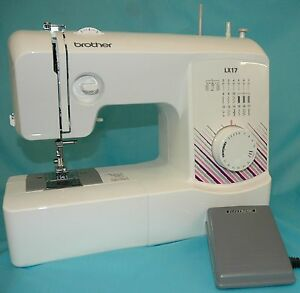 BROTHER-LX17ZU1-SEWING-MACHINE-BROTHER-CARRY-BAG-CASE-WORTH-19-99