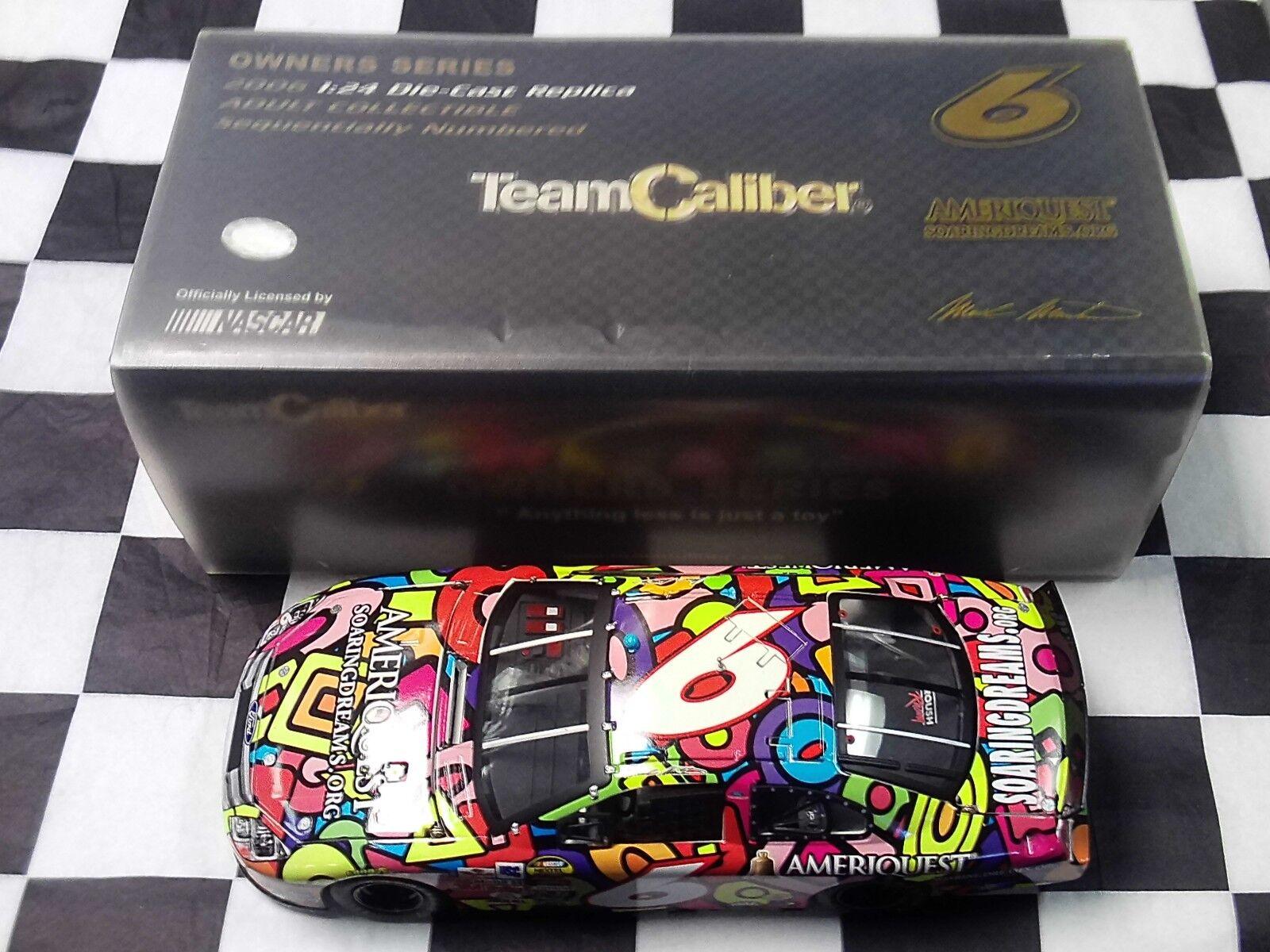 Mark Martin Soaring Dreams 2006 Taurus 1 24 Team Caliber Owners Series NASCAR
