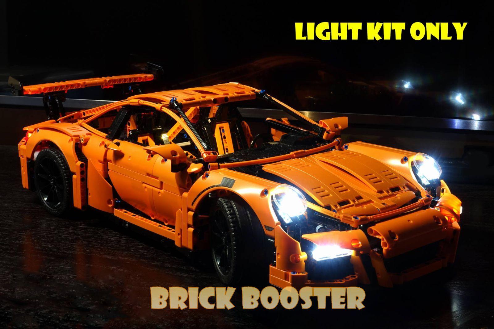 USB   Battery Powerot LED Light Kit for Lego 42056 911 GT3 RS