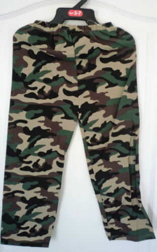 2 Piece Army Fatigues Fancy Dress Play Full Outfit Uniform Camouflage Free Post
