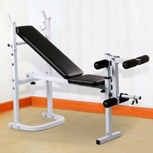 weight lifting bench fitness workout home exercise