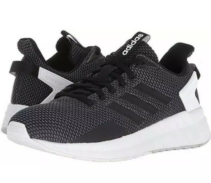 Adidas Adidas Adidas Questar Ride DB1308 Black Grey White Womens 10 Sneakers Running Trainer 45d6a3