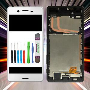 Display-fuer-Original-Sony-Xperia-X-F5121-F5122-LCD-TouchScreen-Weiss-RAHMEN