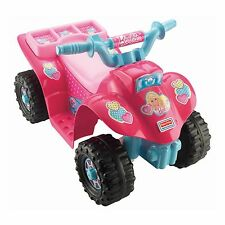 Fisher-Price Power Wheels Barbie Lil' Quad ATV Electric Toddler Ride On | CDY13