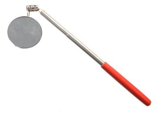 SPECCHIO SPECCHIETTO TONDO DA ISPEZIONE ALLUNGABILE DIAMETRO 50 mm