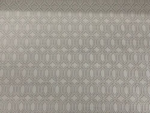 Mirabello Blanc White Faux Silk Jacquard 140cm wide Curtain//Upholstery Fabric