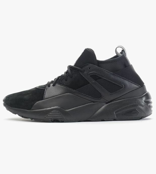 PUMA Men's shoes BLAZE OF GLORY SOCK MONO Black 362038 01 Sz7.5-Fast Ship L