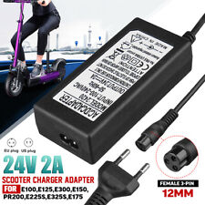 24V Razor Electric Scooter Battery Charger E100 E125 E150 E200 E300 E325 E500 2A
