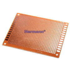 Lochrasterplatine Strip Board Platine 70x90mm PCB Einseitig Single 9x7cm Arduino